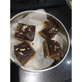 They baked Millionaire's shortbread-yum!