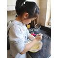 Mei-sze baking