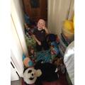Harry has had a teddy bears picnic