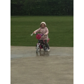 Ella can now ride without stabilisers! Well done!