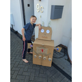 Will made this AMAZING robot!