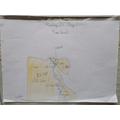 Mei-sze has coloured in a map of Egypt.