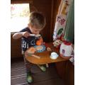 Arthur eating a boiled EGG!!!!