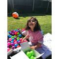 Liana having fun in the sun