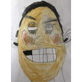 Self portrait - complete with missing tooth