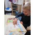 We shared books
