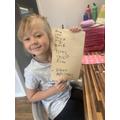 Fantastic writing Lola.