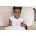Adanna has become a big sister to Zara!