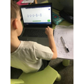 Alfie is learning about fractions.