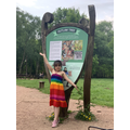 Liza and her family visited Sherwood Forest and saw the Major Oak!