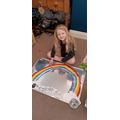 Maisie's beautiful rainbow