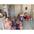 Ethan celebrating Easter