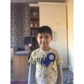 Mustafa celebrated his 5th birthday.