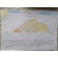 Mei-sze has been learning about the pyramids.