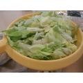 lettuce prep...