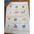 Isabel has been busy practising Spanish!