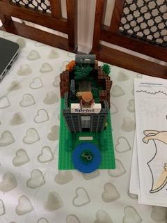 Lego secret garden