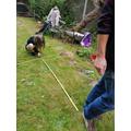 Measuring the long jump