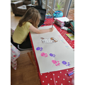 Isobel has been busy finding out about dogs!
