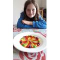 Eleanor's amazing skittles!
