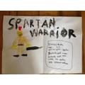 Joe K's Spartan warrior