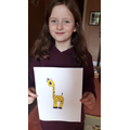 Eleanor found out all about giraffes!