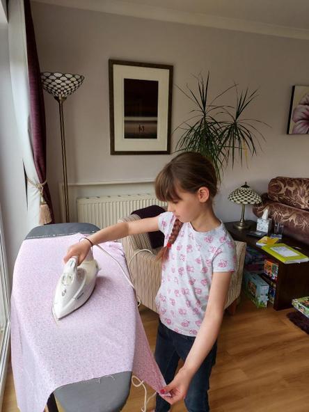 Making scrunchies