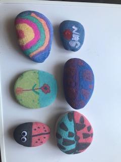 Stone decorating