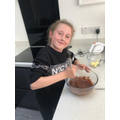 Isabelle has been busy baking...