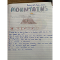 Ruby's work all about mountains