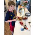 Owen has been busy!