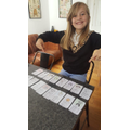 Poppy's top trump cards from her reading!