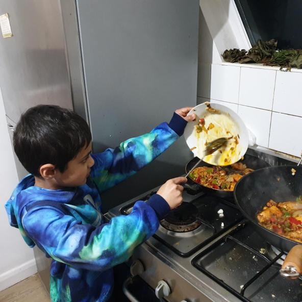 Cooking new foods