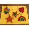 Ruby's lovely rainbow keepsakes