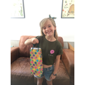 Poppy made a time capsule for the City Hospital