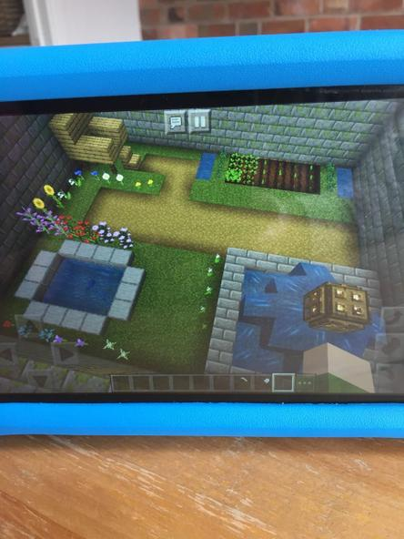 Minecraft secret garden