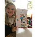 Poppy's poster to show our rules