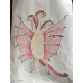 Srinidhi's mythical creature!