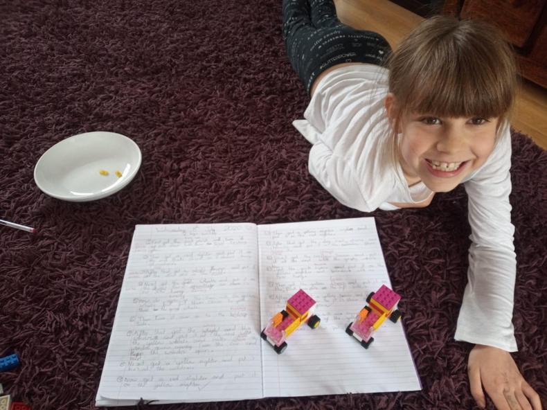 Writing Lego instructions
