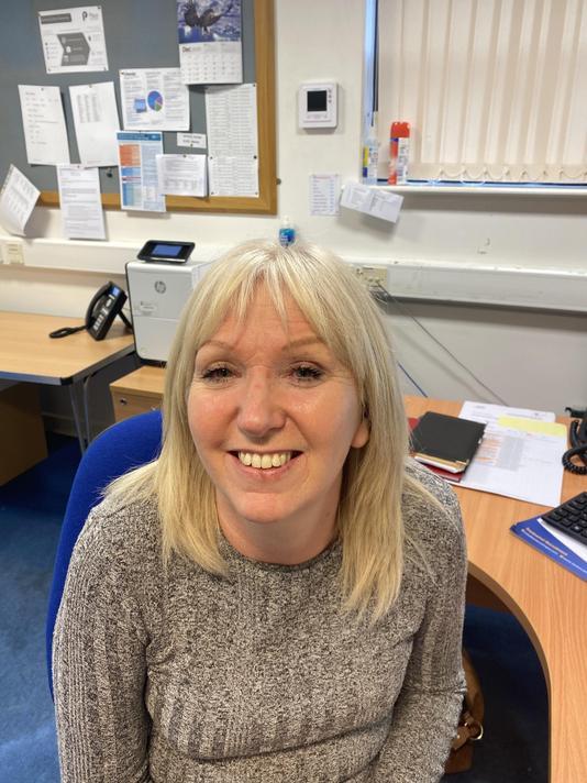 Mrs Sharon Anderson- School Admin