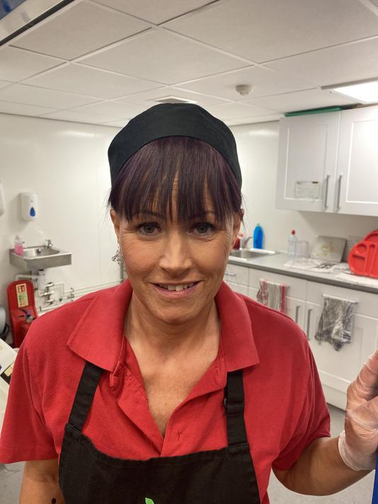 Ms Mandy Hayden- catering team