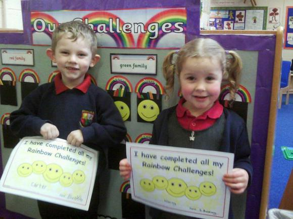 Reception and Nursery Challenges
