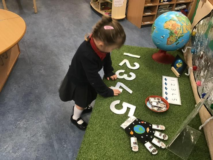 Number recognition and ordering.