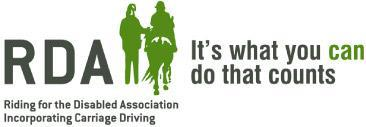 Riding for the Disabled Association Incorporating Carriage Driving Logo