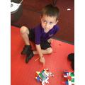 We enjoyed making lego models.