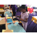 In computing we have been making stop motion animations.