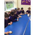 We had a virtual visit from Warburtons who inspired us to make bread.