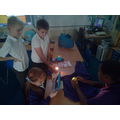 We used torches to explore day and night.
