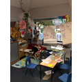 Penguin Class Reading and writing area