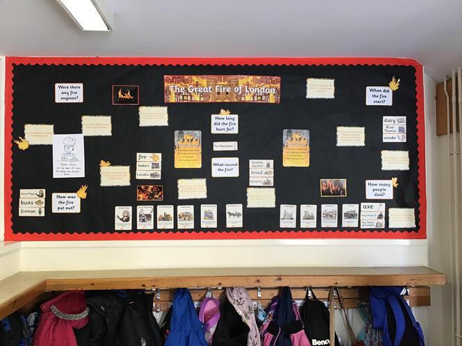 We will be adding more pictures of the display as it transforms throughout this term.